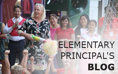 Elementary School Blog- Sept 13