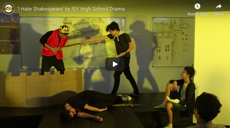 'I hate Shakespeare' by ISY High School Drama