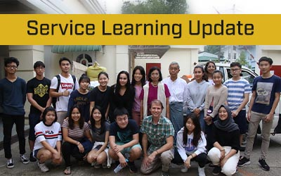 Service Learning – On the Right Track