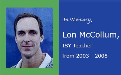 In Memory, Lon McCollum