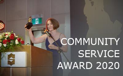 Community Service Award 2020