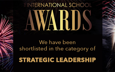 ISY Award Nomination International School Awards 2020