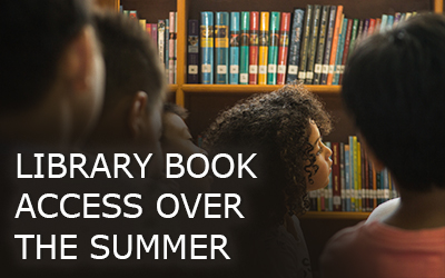 Library Book access in the summer