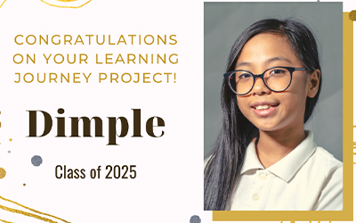 Dimple's Learning Journey